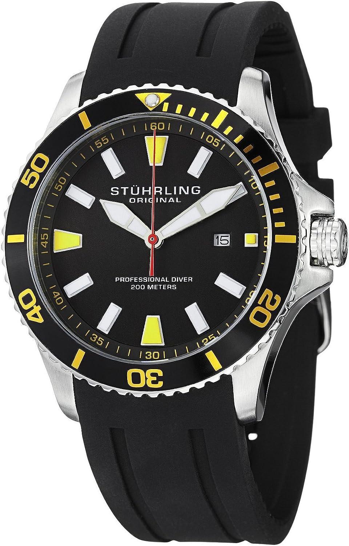 [ストゥーリングオリジナル] Stuhrling Original 腕時計 Aquadiver アクアダイバー 日本製クォーツ 706.04 メンズ 【並行輸入品】