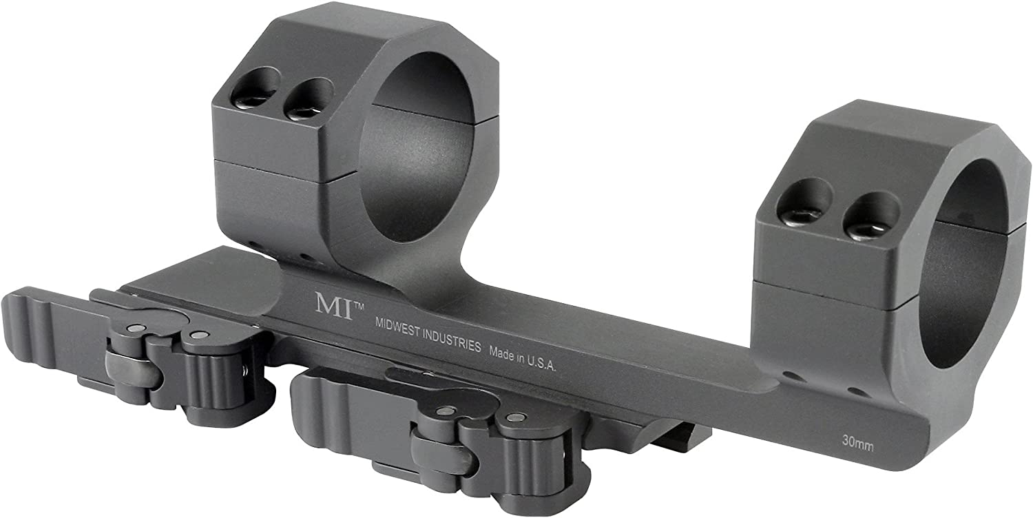 "6. Midwest Industries 30mm QD Scope Mount with 1.5"" Offset"