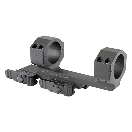 "Midwest Industries 30mm QD Scope Mount with 1.5"" Offset"