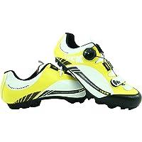 LUCK Zapatillas de Ciclismo Pro 0.17 MTB, con Suela de Carbono de 4mm y Cierre Rotativo de Alta Precisión.