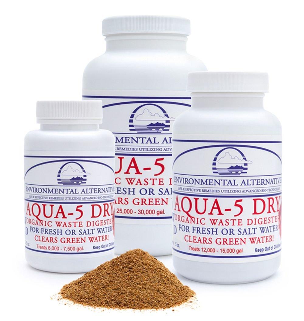 Aqua-5 Dry - Detergente per acquari, da 70 fino a 280 g fino a 150.000 l