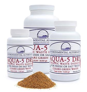 Limpiador de residuos orgánicos en aguas Aqua-5 Dry, de 70 a ...