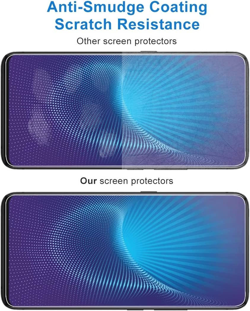GzPuluz Glass Protector Film 100 PCS 0.33mm 9H 2.5D Tempered Glass Film for Vivo NEX S