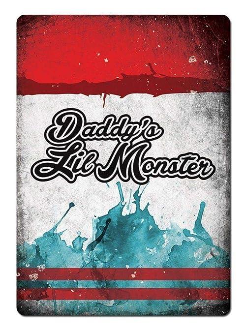 DaddyS Lil Monster Carteles de Chapa de estaño Señal de ...