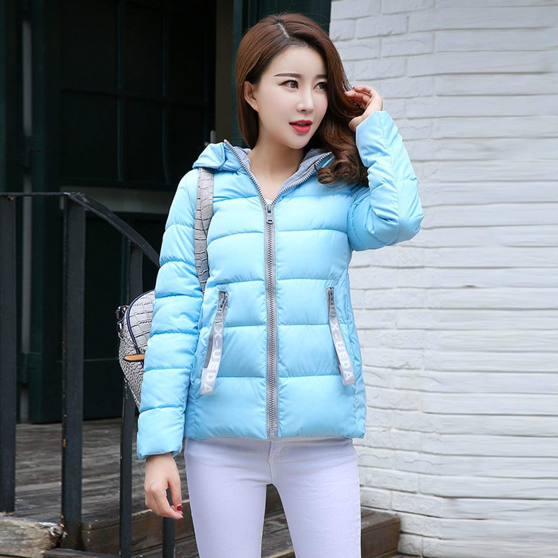 Female Short Winter Jacket Coat Red Cotton Padded Clothing M-XXL Warm Parka Feminina,Rose red,M
