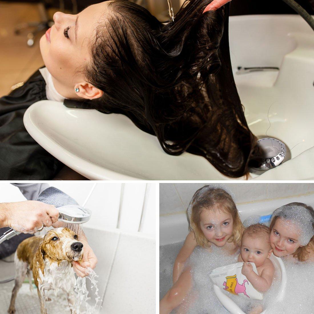 BABATH Tub Drain Hair Catcher Stainless Steel Bathtub Drain Protector Strainer