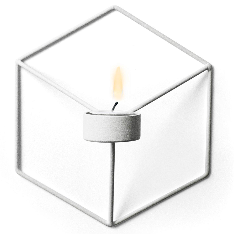 Menu POV Wall Candleholder, White
