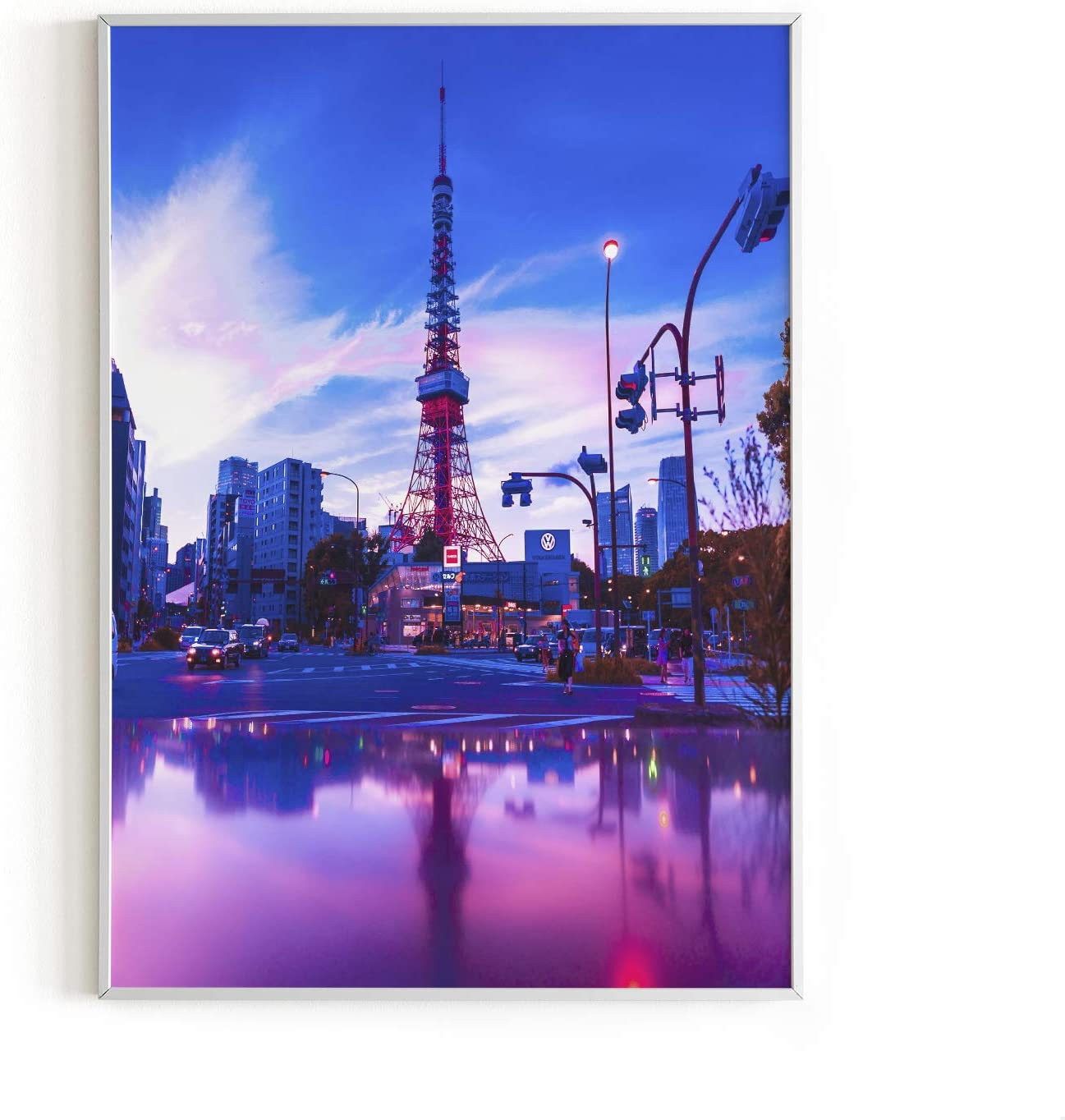 """Tokyo Neon Wall Art Posters By Haus and Hues 