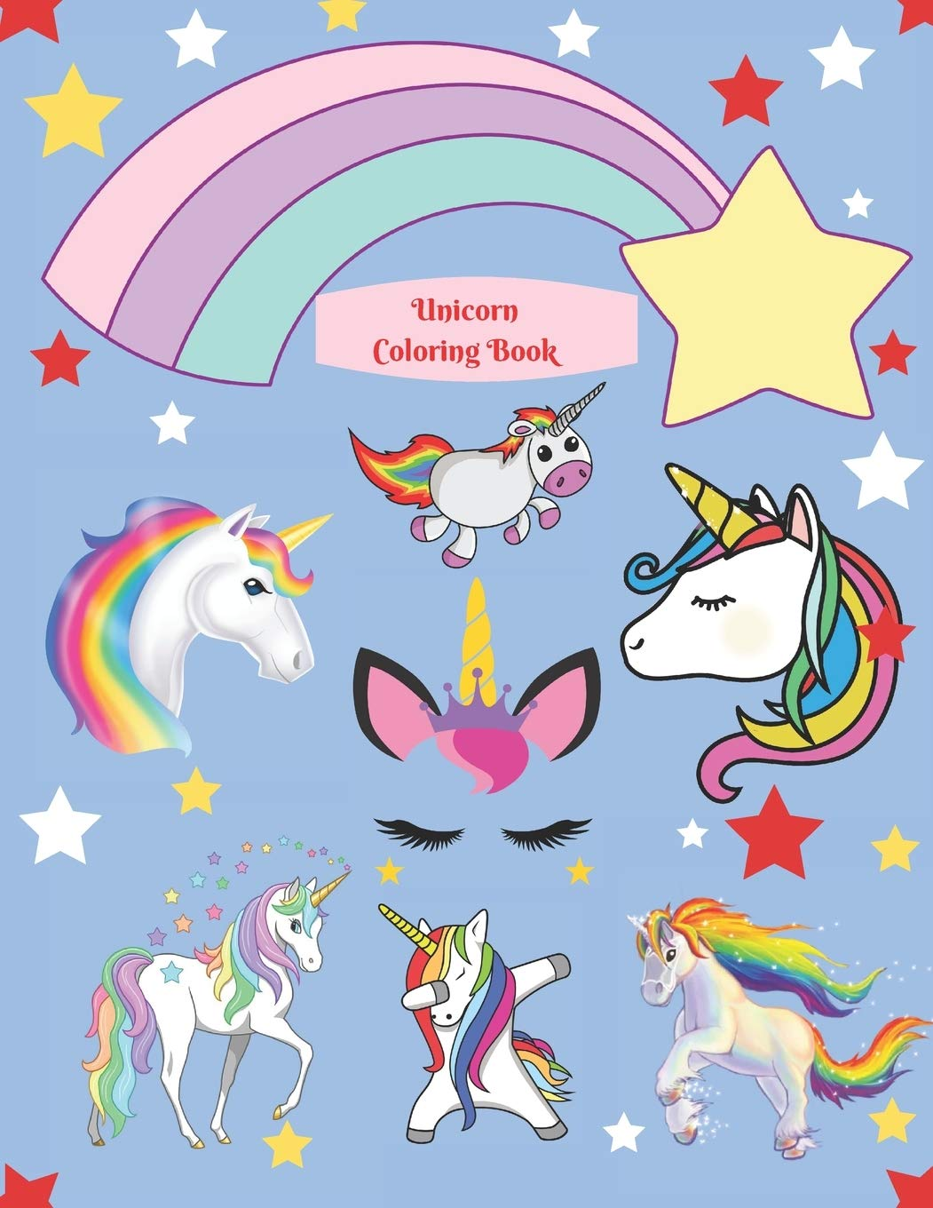 Unicorn Coloring Book Magical Unicorn Coloring Book for Girls ...