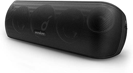 Anker Soundcore Motion+ Bluetooth Speaker with Hi-Res 30W Audio, Extended Bass and Treble, Wireless HiFi Portable Speaker with App, Customizable EQ, 12-Hour Playtime, IPX7 Waterproof, and USB-C
