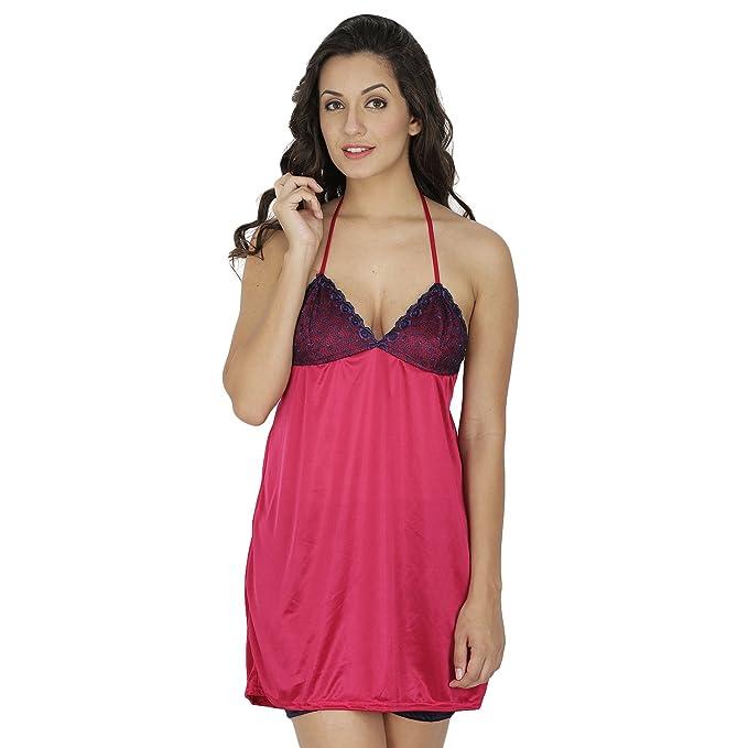 bc5538c307 Klamotten Women Nightwear and Bikini Set-221K-208C  Amazon.in ...