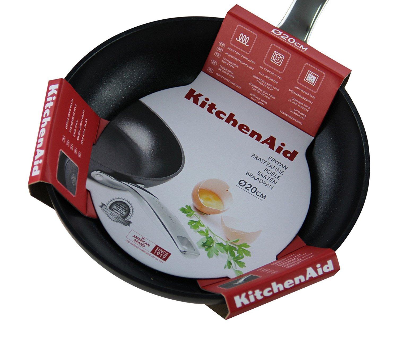 Kitchenaid Sartén, diámetro 20 cm: Amazon.es: Hogar