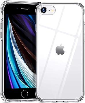 ESR Coque pour iPhone Se 2020 Silicone, Coque Transparente avec ...