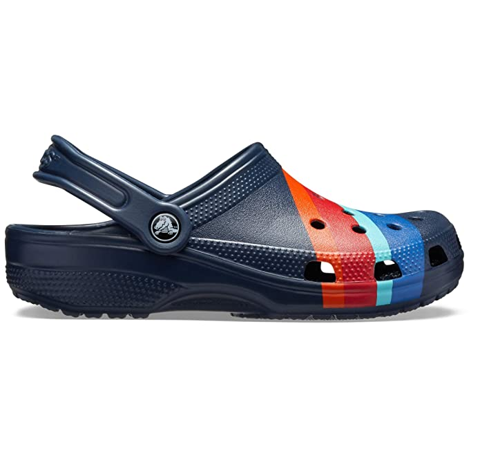 111fa5bdd Crocs Unisex Adults  Classic Seasonal Graphic Clog  Amazon.co.uk  Shoes    Bags