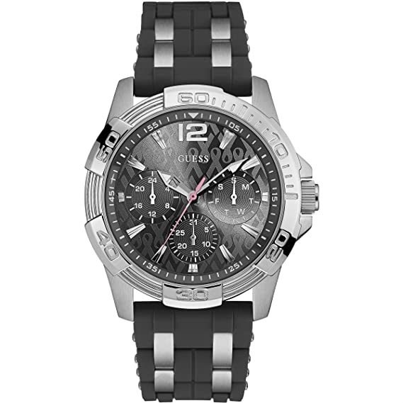 Reloj para Hombre Guess Sporting Pink Exclusive W0032G7: Amazon.es: Relojes