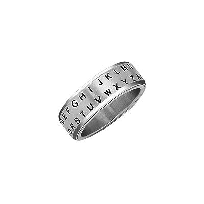 Retroworks Secret Decoder Ring: Alphabet Shift Silver Size 06: Clothing