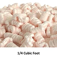Supplyhut White Anti-Static Loose Fill Packing Shipping Peanuts 8 Cubic Feet