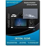 """3 x SWIDO® Pellicola Protettiva Olympus OM-D E-M5 Mark II Screen Protector Pellicola Protettiva Film """"CrystalClear"""" invisibile"""
