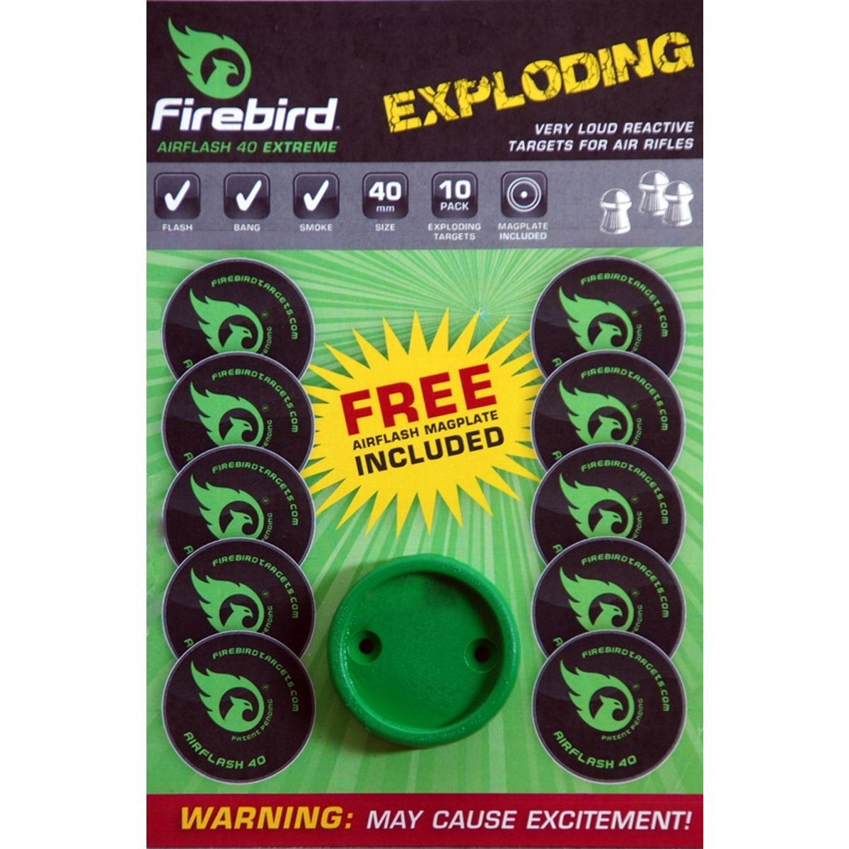 Firebird Exploding Targets Airflash Extreme by John Rothery Wholesale