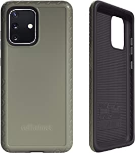 cellhelmet Fortitude Series ODG/Olive Drab Green/Tactical Green Dual Layer Phone Case for Samsung Galaxy S20 Plus   As Seen on Shark Tank   in Retail Package