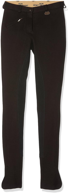 Pantaloni da Equitazione Donna HKM Reithose-Penny-3//4 Besatz