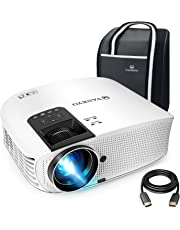 "VANKYO Leisure 510 Full HD Movie Projector with 4000 Lux, Video Projector with 200"" Projection Size, Support 1080P HDMI VGA AV USB with HDMI Cable and Carrying Bag"