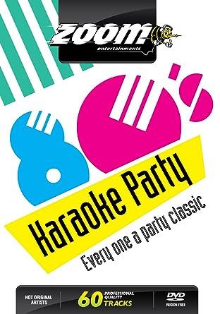 Zoom Karaoke DVD - Eighties Karaoke Party 80's - 60 Songs