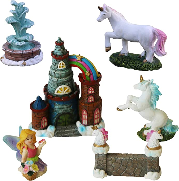 The Best Fairy Garden Accessories Unicorn