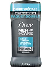 Dove Men+Care Clean Comfort (2) Antiperspirant Stick 76 GR