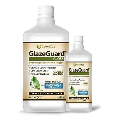 Glazeguard Gloss Floorwall Sealer For Ceramic Porcelain Stone