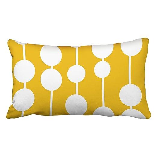 emvency fundas de almohada de mediados de siglo moderno ...
