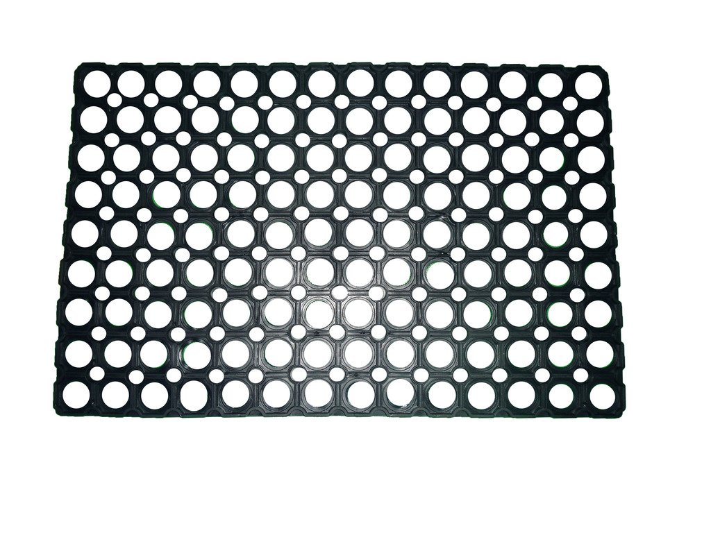 mat semicircle doormat recycled door square products rubber