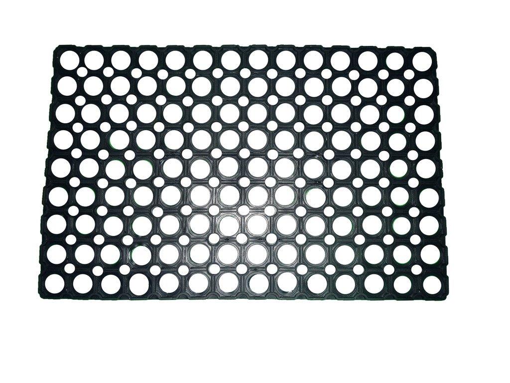 Buy Ritika Carpets Rubber MediumBlack Door Mat Online At Low Prices In  India   Amazon.in