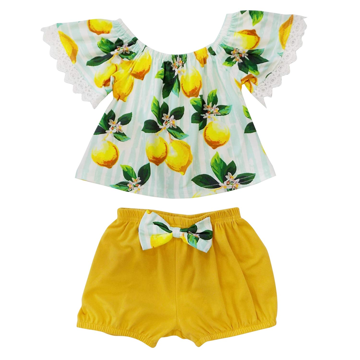 So Sydney Girls or Toddler Shorts Outfit Boutique Cute Clothing High Waist Tie Top Suede Shorts Set