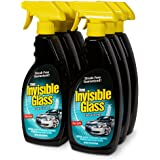 Invisible Glass 92164-6PK 22-Ounce Premium Glass Cleaner and Window Spray for Auto and Home Provides a Streak-Free Shine on Windows, Windshields, and Mirrors is Residue and Ammonia Free and Tint Safe