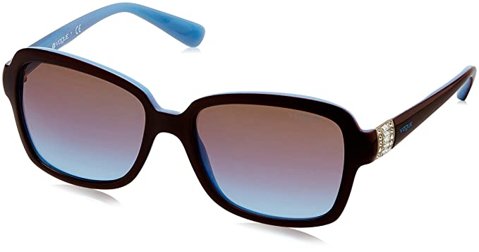 Sunglasses Mod. 2942SB 201148 (55 mm) Light brown/opal azure/Azure grad pink grad brown, 55 Vogue