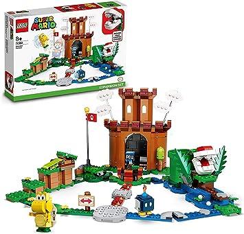 Super mario fortezza lego  sorvegliata -giocattolo, set di costruzioni giocattolo , 71362