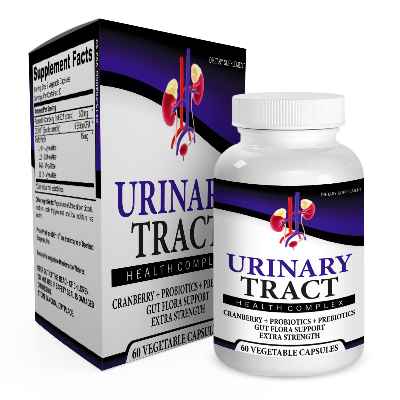 Urinary Tract Supplement UTI (Infection) Support by Elevate Recovery Supplements