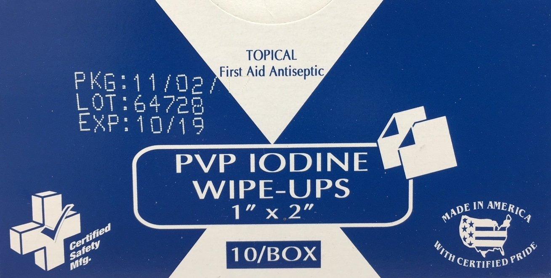 PVP Iodine Wipe-Ups (213-005)