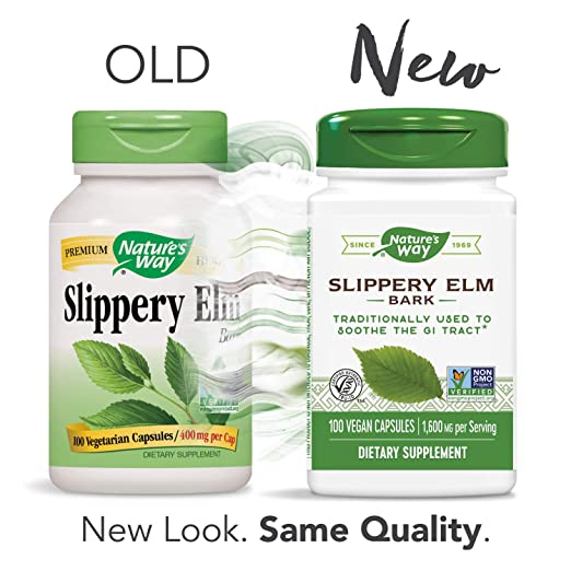 Nature's Way Slippery Elm Bark (Packaging May Vary)