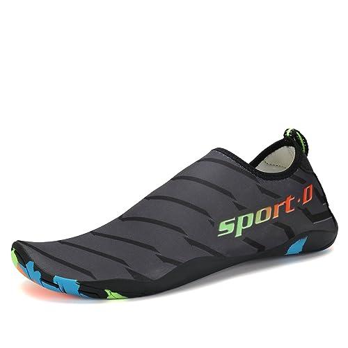 Calzado Barefoot Mujer Hombre Running Deportivo Ligeras Zapatillas Agua Playa Antideslizante Impermeable: Amazon.es: Zapatos y complementos