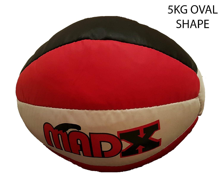 MADX Balón Medicinal 5 Kg, 8 kg, 10 kg Heavy Duty Rex piel Fitness ...