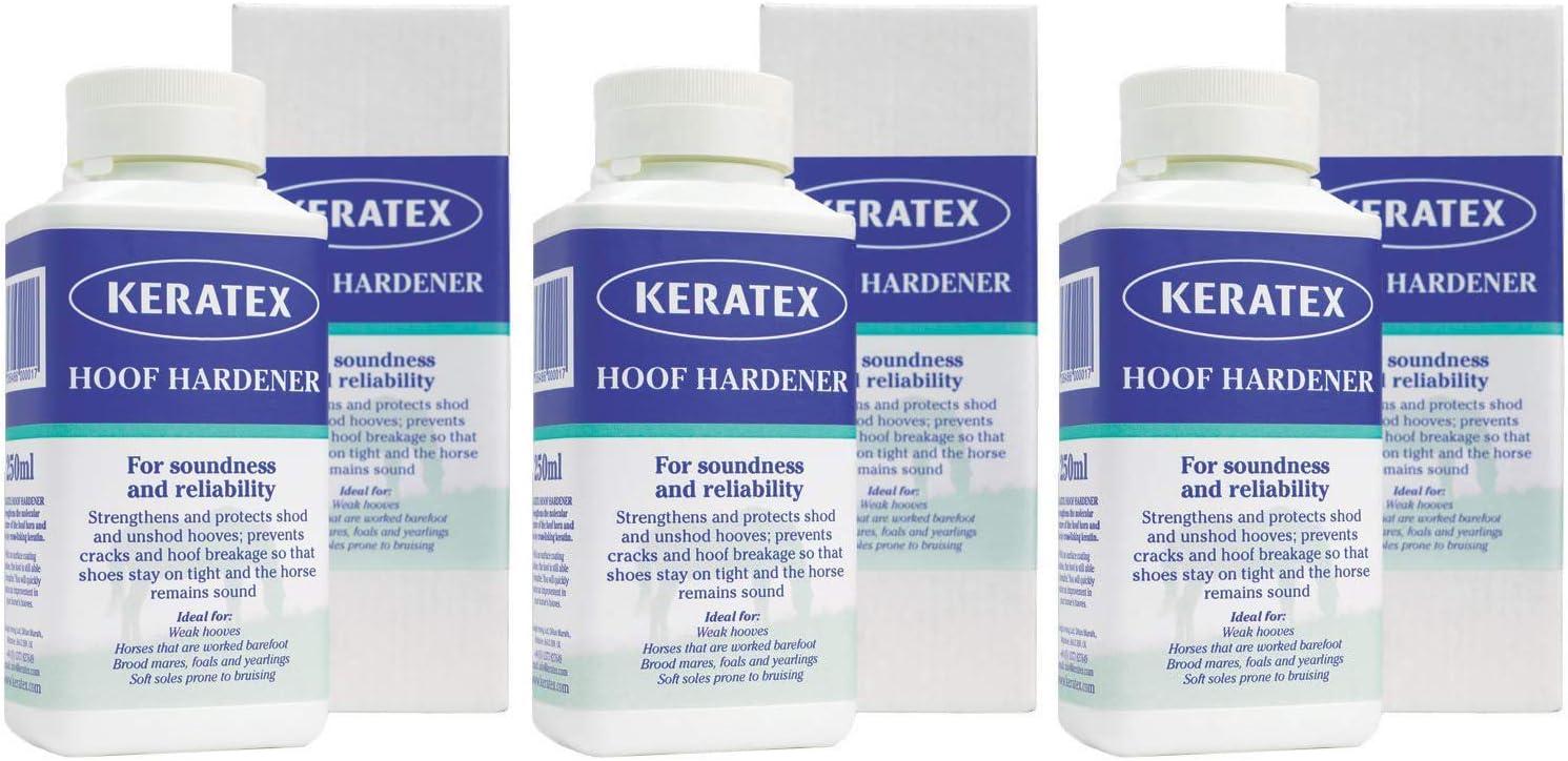 Keratex KHH 250 - Endurecedor de Hadas (250 ml), 3-(Pack)