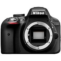 Nikon D3300 Digital SLR Camera (24.2 MP, 3 inch LCD) - Black