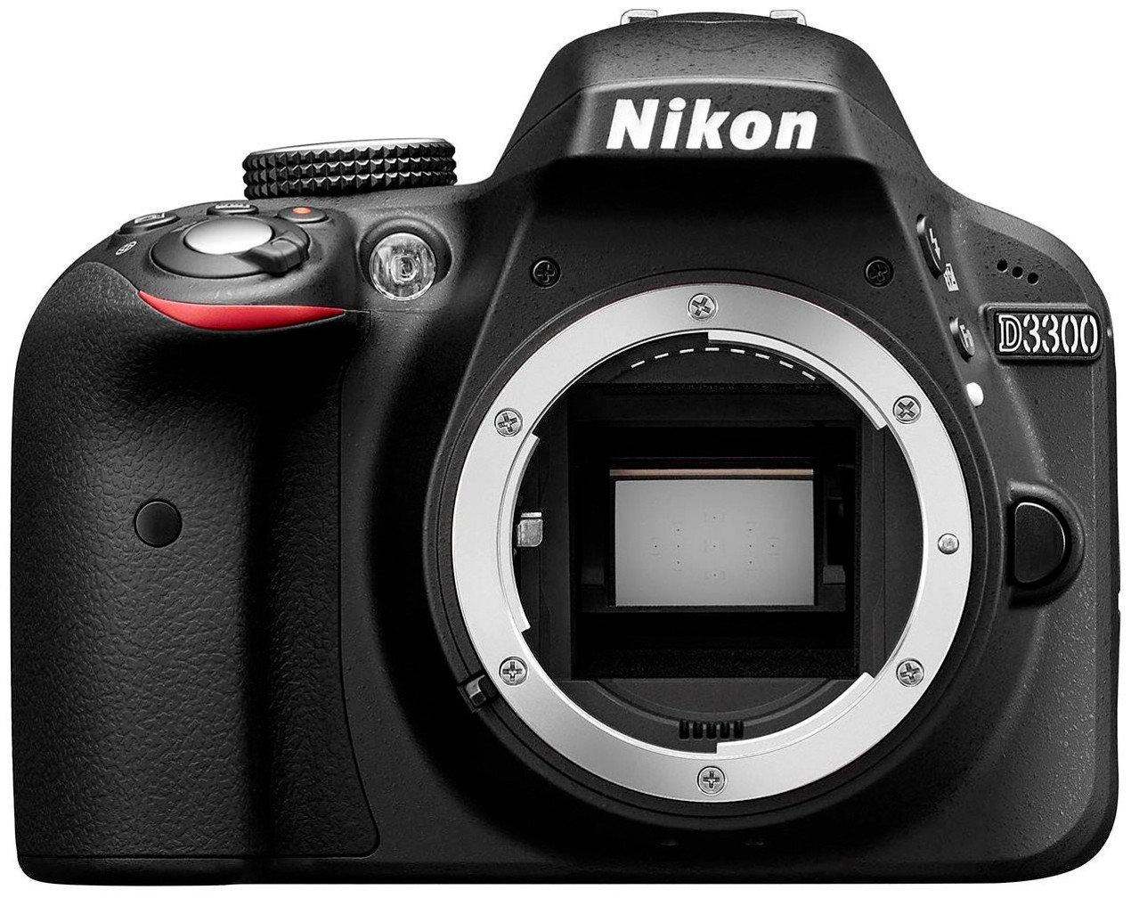 Nikon D3300 Fotocamera Reflex Digitale Solo Corpo, 24.2 Megapixel, LCD 3 Pollici, Nero [Versione EU] product image