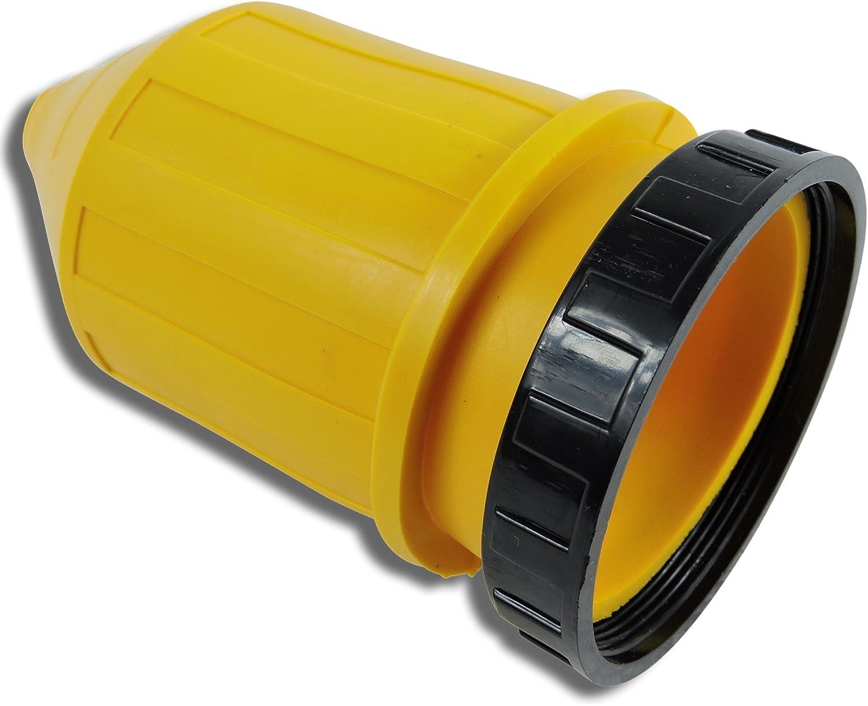 Female Twist locking Connector Leisure Cords 50 AMP RV Trailer Marine Power Cord Power Inlet Weatherproof Boot Kit