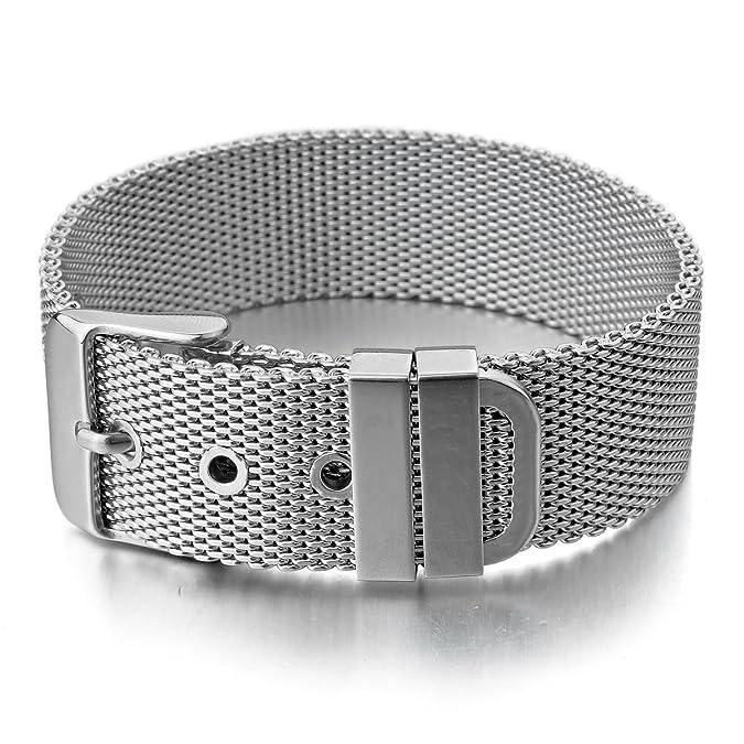gros en ligne original de premier ordre trouver le travail MunkiMix Acier Inoxydable Bracelet Bracelet Menotte Ton d ...