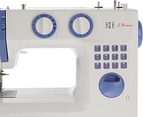 LEVIVO Máquina de Coser de Brazo Libre N1, Aluminium, Blanco ...