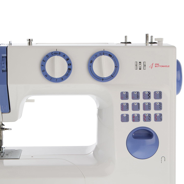 LEVIVO Máquina de Coser de Brazo Libre N1, Aluminium, Blanco, 45x23.5x35 cm: Amazon.es: Hogar