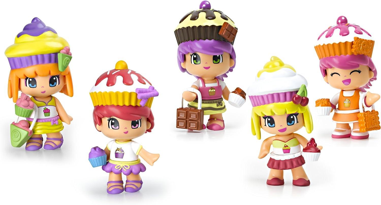 Amazon.es: Pinypon Cupcake Cuties Doll Playset (5-Pack): Juguetes y juegos